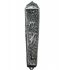 Mezuzah Pewter and Silver