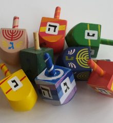 Dreidels and Gifts